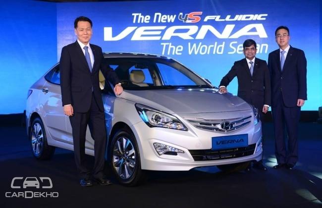 Hyundai Verna Facelift