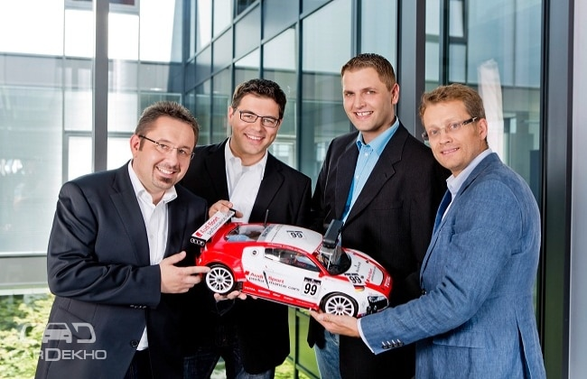 Audi asks students to create piloted model car