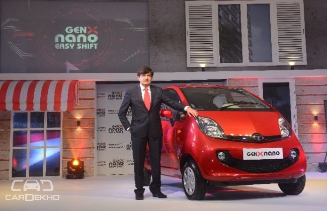 Tata Motors Launches Nano Genx At Rs Lac