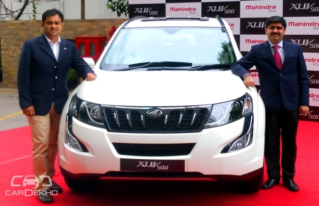 new car launches by mahindraMahindra to Launch 9 Models in FY2015 New XUV5OO Launched in