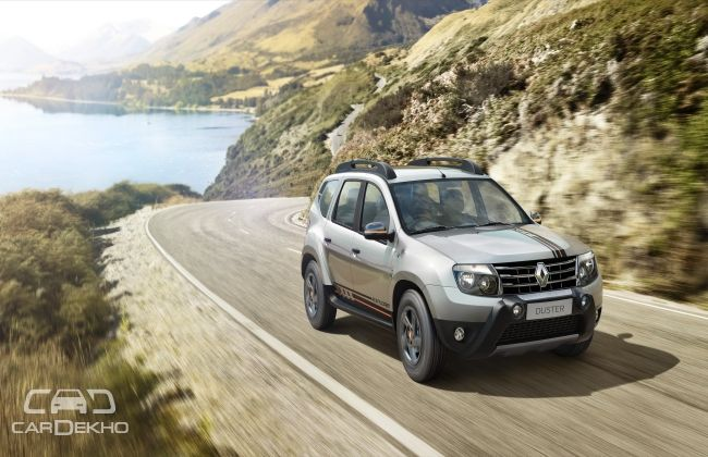 renault launches limited edition duster explore. Black Bedroom Furniture Sets. Home Design Ideas