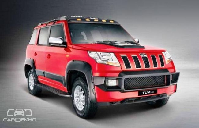 Mahindra Launches New Rugged Body Kit For Tuv 300