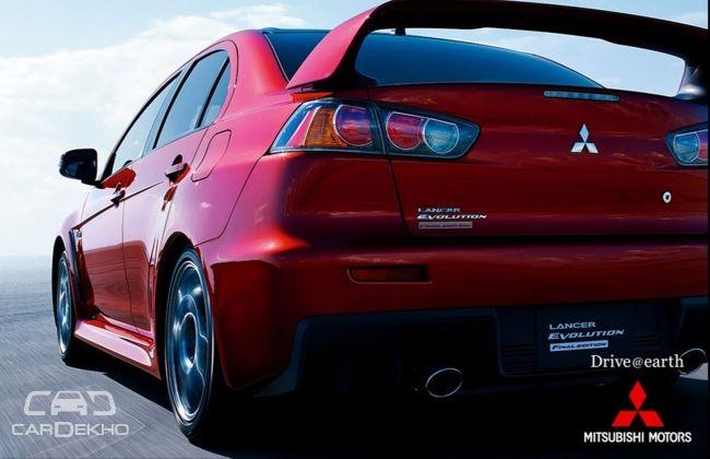 2015 Mitsubishi Lancer Final Edition rear