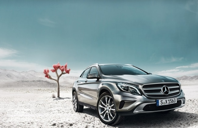 2015 Mercedes Benz GLA wallpaper