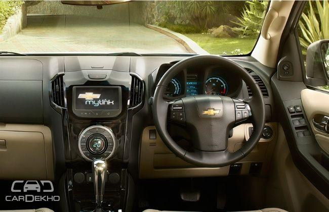 Chevrolet Trailblazer Interior