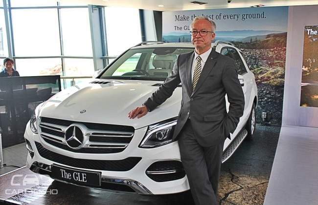 New Mercedes-Benz GLE launch in Chennai