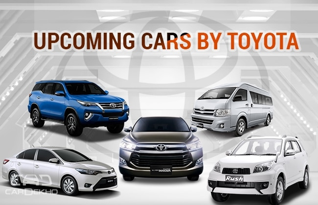 new car launches by toyotaUpcoming Cars Of Toyota  Have A Look  DailyTop
