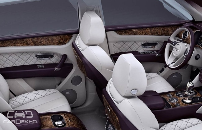 Bentley Bentayga First Edition interiors