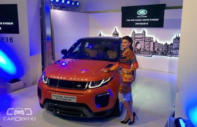 Range Rover Evoque Facelift
