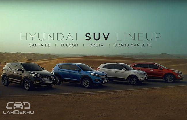 India Awaits Tucson Hyundai Flaunt Suvs In New Tvc