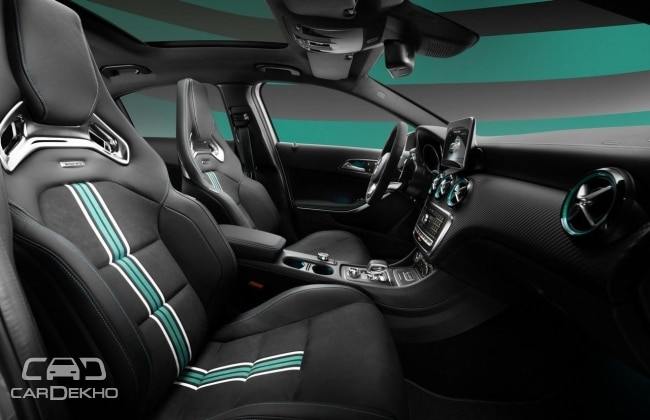 Mercedes-AMG A45 Petronas 2015 World Champion Edition (Engraved badging)