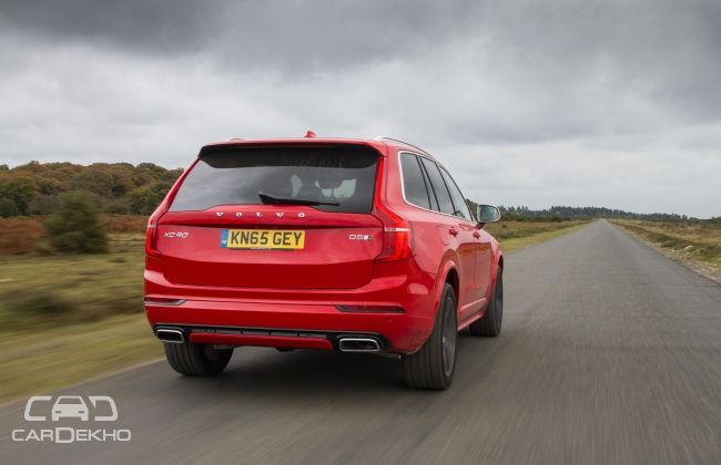 Volvo XC90 R Design Rear