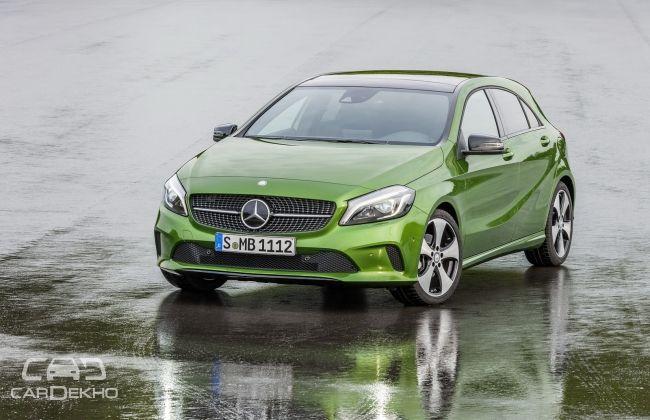 Mercedes-Benz Class A Facelift