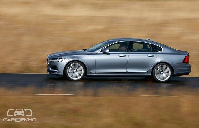 Volvo Q4 >> Volvo S90 Revealed India Launch In Q4 2016 Business Standard News