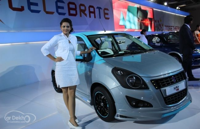 Live images from the Maruti Suzuki Stand- Auto Expo
