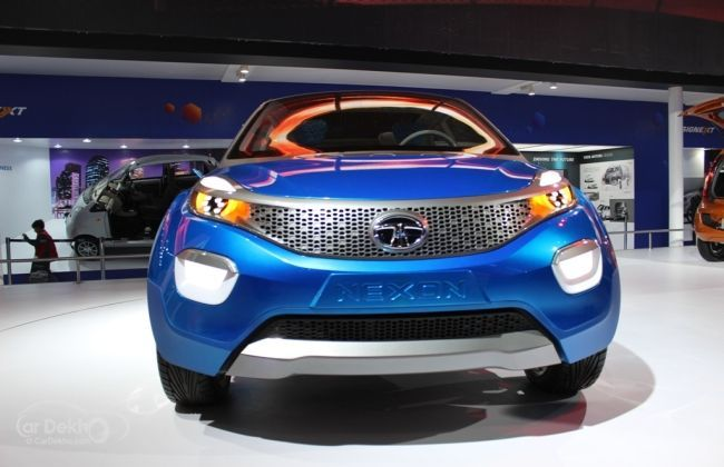 tata motors x1 platform with Tata Nexon  Pact Suv Concept Makes Its Indian Debut Pictures Inside 12369 on Auto Expo 2016 Tatas Sub  pact Suv Nexon Breaks Cover 1272986 besides Tata Nexon Spied Close Up 213436 additionally Tata Nexon Tata Osprey Rendering 207665 additionally Tata Nexon  pact Suv Concept Makes Its Indian Debut Pictures Inside 12369 as well Tata Zest.