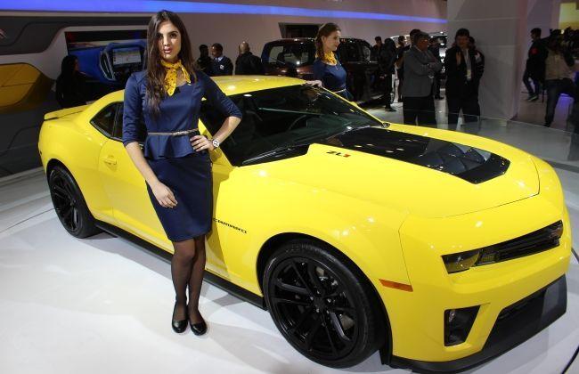 Chevrolet Camaro Unveiled- Photo Gallery