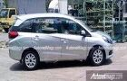 India-bound Honda Mobilio MPV spied