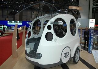 Tata Motors air compressed car  Airpod may be launched in 2015