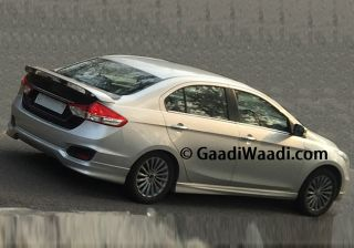 Sportier Ciaz with Body Kits Spied Again; Is it Upcoming Verna Facelift Effect?