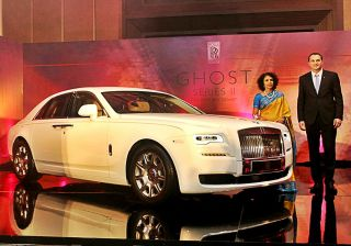 Rolls-Royce Ghost Series II launched in Chennai at Rs.4.5 crore