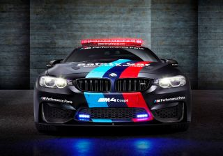 BMW M4 Coupe is the Official Safety Car of 2015 MotoGP