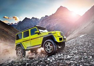 Mercedes Reveals First Picture of its Upcoming G500 4X4