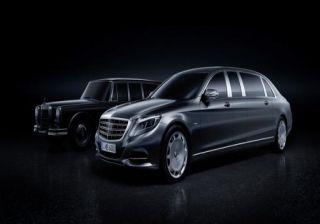 Mercedes unveils Maybach Pullman; Public Debut at Geneva Motor Show