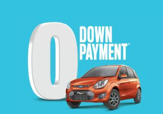Now Own a Ford Figo with Zero Down Payment Offer