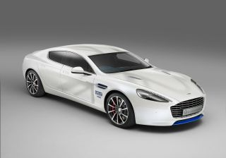Aston Martin Unveiled one-off Rapide S to Promote GREAT Britain campaign