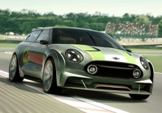 MINI Clubman Vision Gran Turismo is a 395-hp go-kart for your TV