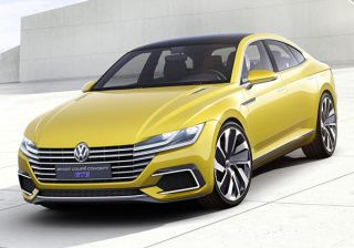 #2015Geneva MotorShow: Volkswagen Showcases its Sports Coupe GTE