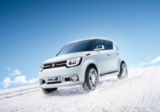 #2015GenevaMotorShow: Suzuki Unveils Sub 4 meter Compact SUV Concept Model iM-4