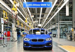 BMW 1 Series production hits two-million mark just before the new model's launch