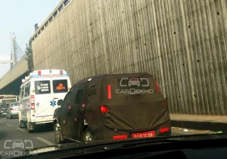 Spied: Chevrolet Spin MPV testing in Bengaluru; launch in 2016