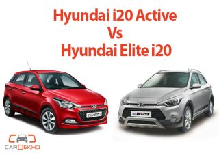 Hyundai i20 Active Vs Elite i20, What's Different!