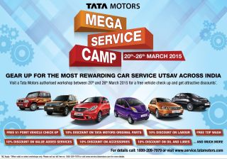 Tata Motors announces nationwide service camp from 20th to 26th March