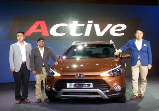 Hyundai launches i20 Active; priced from INR 6.38 lac