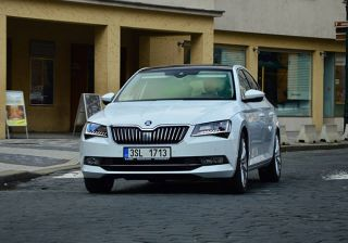 All New Skoda Superb Spotted on the Roads of Prague