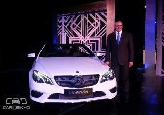 Mercedes-Benz E400 Cabriolet launched in India at INR 78.5 lac