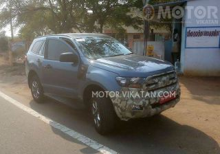 For All Endy Lovers Here - Ford India Starts Testing New Endeavour!