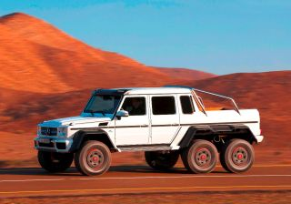 Mercedes-Benz G63 AMG 6x6 production stopped