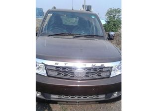 Tata Safari Storme Facelift Spied - Shows Its Interiors; Launching Soon!