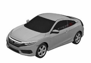 Production Version Honda Civics Patented Sketches Leaked