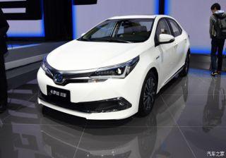#2015AutoShanghai: Toyota Reveals Corolla Hybrid