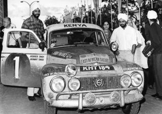 50 years have passed since Singh brothers won Safari Rally
