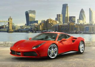 Ferrari 488 GTB gets a high profile launch in London