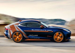 Jaguar to unveil a special Bloodhound F-Type