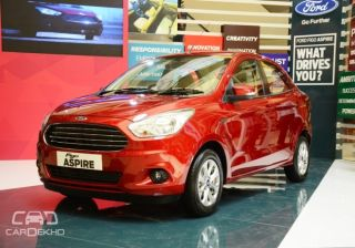 Ford India Retails 11,714 vehicles in May, 2015