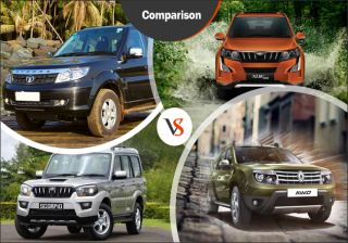 Launch Comparison: Tata Safari Storme vs Mahindra XUV500 Vs Duster AWD vs Mahindra Scorpio